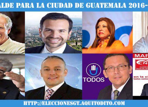 Candidatos a Alcaldes