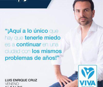 Luis Enrique Cruz (Veneno) Presenta su Plan de Desarrollo Metropolitano 2035
