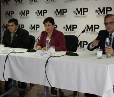 MP y Cicig hacen un llamado a no votar por personas señaladas de corrupción