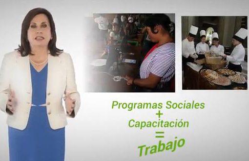 Sandra Torres Programas Sociales