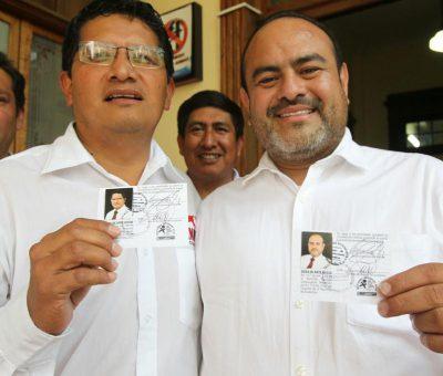 Binomio Presidencial del MNR reciben sus Credenciales