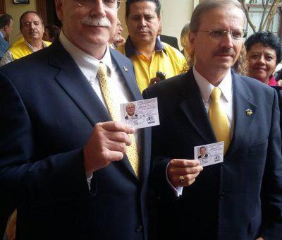 Binomio Presidencial del Partido PAN reciben sus credenciales