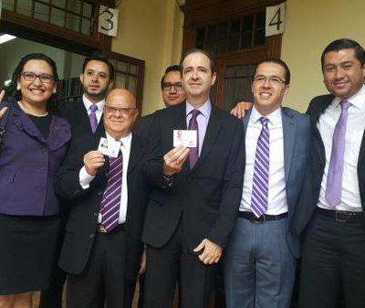 Binomio Presidencial del Partido TODOS recibe credenciales