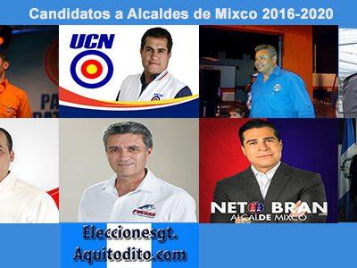 ENCUESTA: Por quién Votarías para Alcalde de MIXCO?