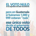 NO VOTES NULO