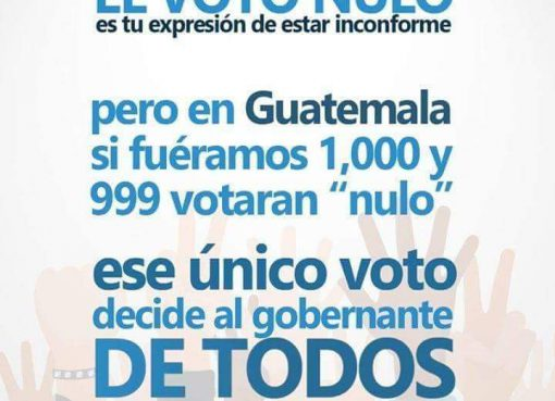 NO VOTES NULO