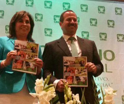 Partido UNE presenta plan de gobierno y CICIG continuará