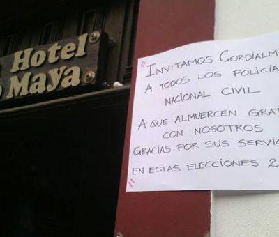 Gran campaña #ComidaParaElPoli Para los Agentes de la PNC