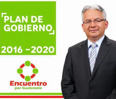 Plan de Gobierno del Partido Encuentro por Guatemala