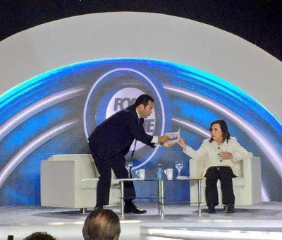 Jimmy Morales le ofrece disculpas a Sandra Torres