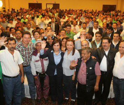Alcaldes Electos brindan su apoyo a Sandra Torres y el Partido UNE
