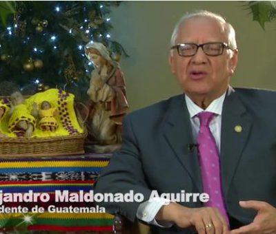 VIDEO: Mensaje del Presidente Alejandro Maldonado Aguirre