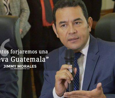 Jimmy Morales da la razón por la cual no a presentado su Gabinete de Gobierno