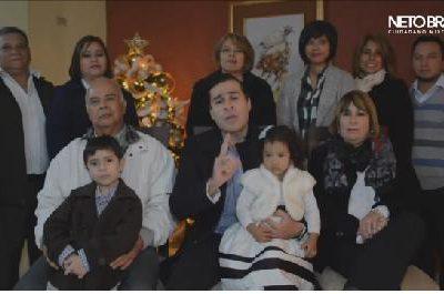 VIDEO: Neto Bran Alcalde de Mixco le Desea Feliz Navidad