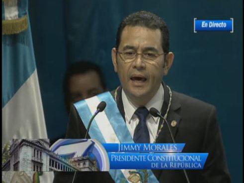 Discurso Oficial de Jimmy Morales