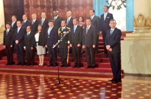 Gabinete de Gobierno de Jimmy Morales