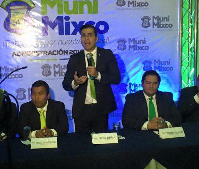 Neto Bran Alcalde Electo de Mixco presenta a su equipo de trabajo