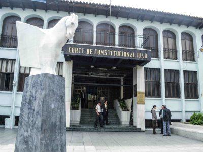 La Corte de Constitucionalidad deniega amparo a diputados electos