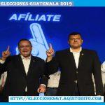 Alejandro Giammattei y Guillermo Castillo Proclamados como binomio presidencial del Partido Vamos