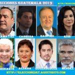 ENCUESTA: Sí Hoy fueran las Elecciones Generales de Guatemala Por quién Votarías?