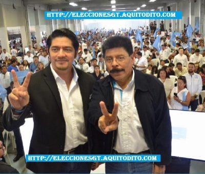 El Partido Político VIVA Proclama a su Binomio Presidencial Juan Carlos Eggenberger y Antonio Rodríguez López Elecciones 2019