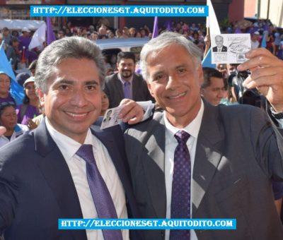 Binomio Presidencial del Partido TODOS Recibieron sus Credenciales para las Elecciones 2019