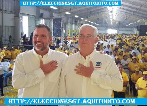 Roberto Arzú Proclamado Candidato Presidencial