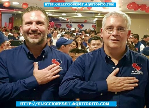 Roberto Arzú y José Farías