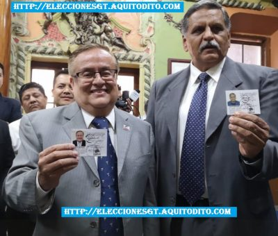 Binomio Presidencial del Partido Fuerza Reciben sus Credenciales para las Elecciones 2019