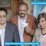 Binomio Presidencial del Partido Encuentro por Guatemala Recibe sus Credenciales