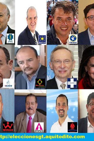 Candidatos Presidenciales Elecciones 2019